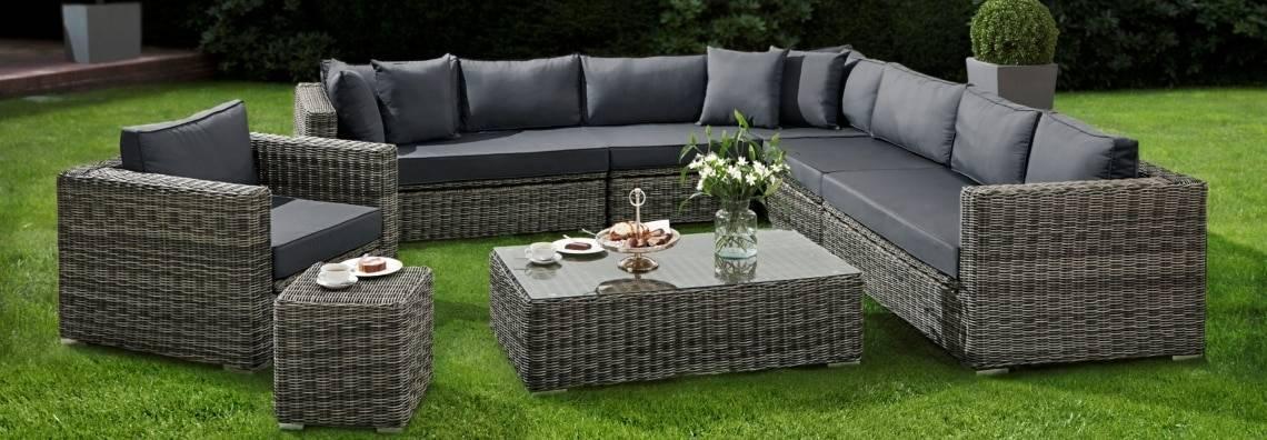 Gartenmöbel Rattan Set
