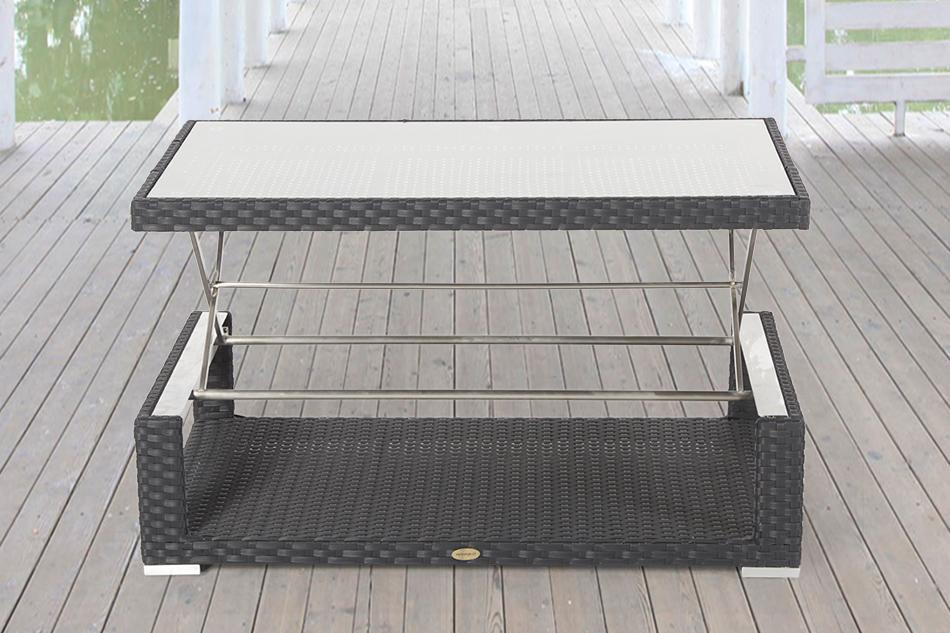 Gartenmöbel Tisch Höhenverstellbar