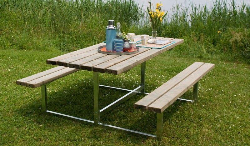Gartenmöbel Tisch Und Bänke