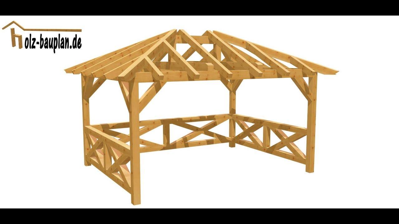 Gartenpavillon Grillpavillon Holz