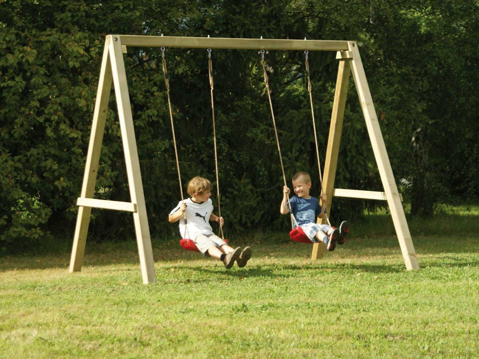 Gartenschaukel Kinder Holz