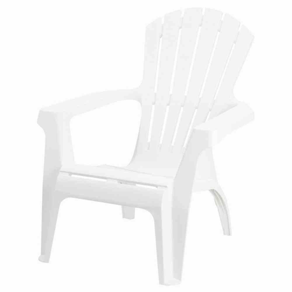 Gartenstuhl Kunststoff Weiß Hochlehner