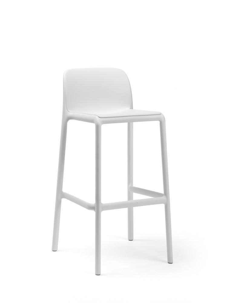 Gartenstuhl Kunststoff Weiß