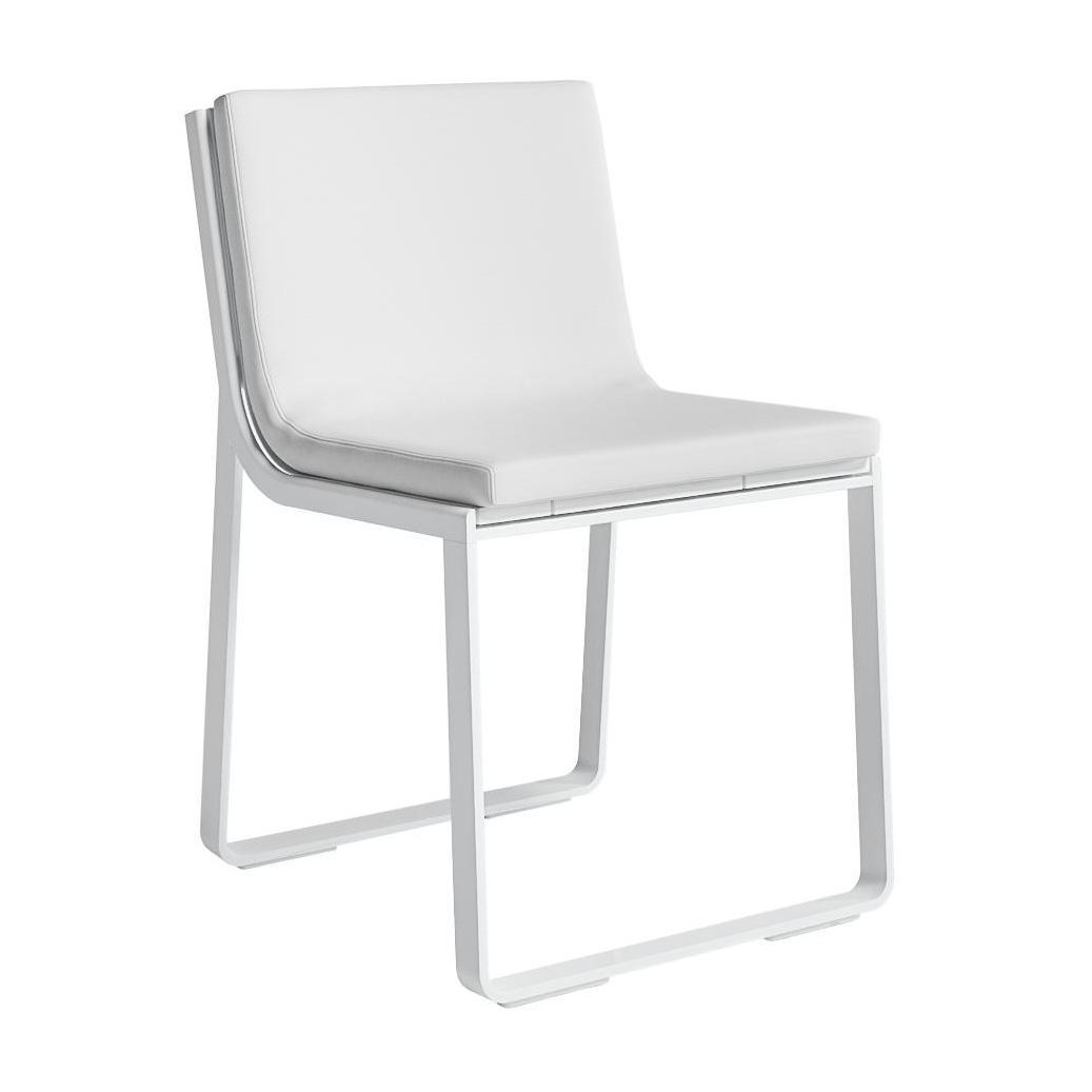 Gartenstühle Aluminium Weiß