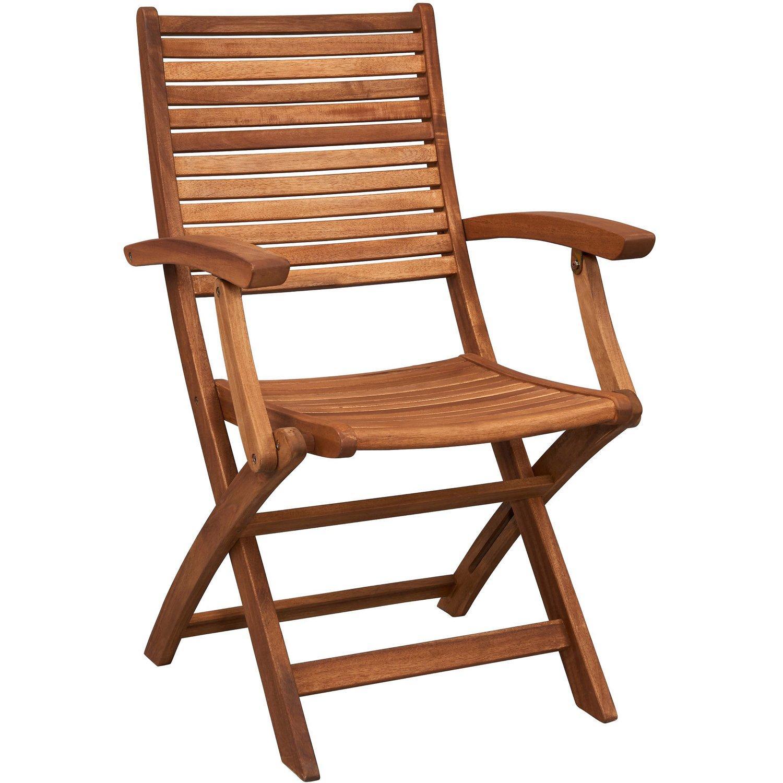 Gartenstühle Holz Metall Klappbar