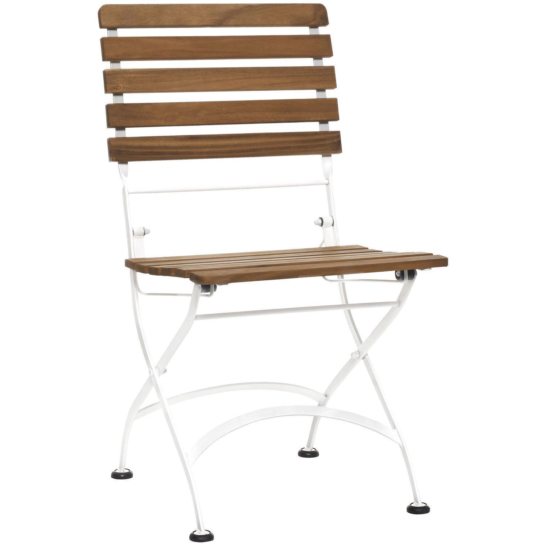 Gartenstühle Holz Metall