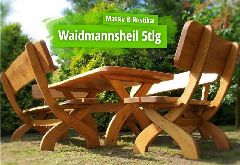 Gartenstühle Holz Rustikal