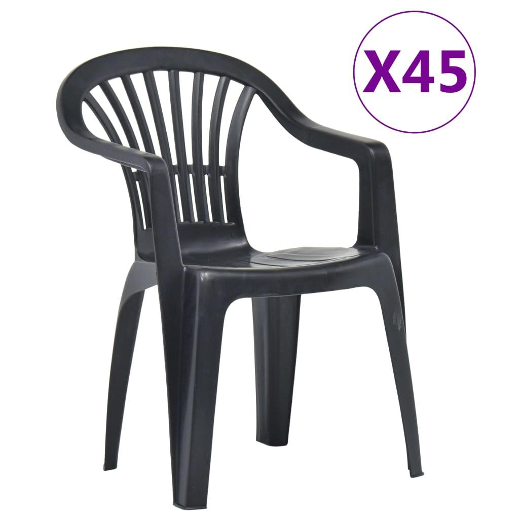 Gartenstühle Kunststoff Stapelbar