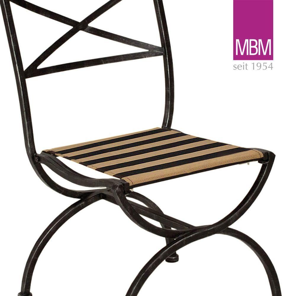 Gartenstühle Metall Schwarz
