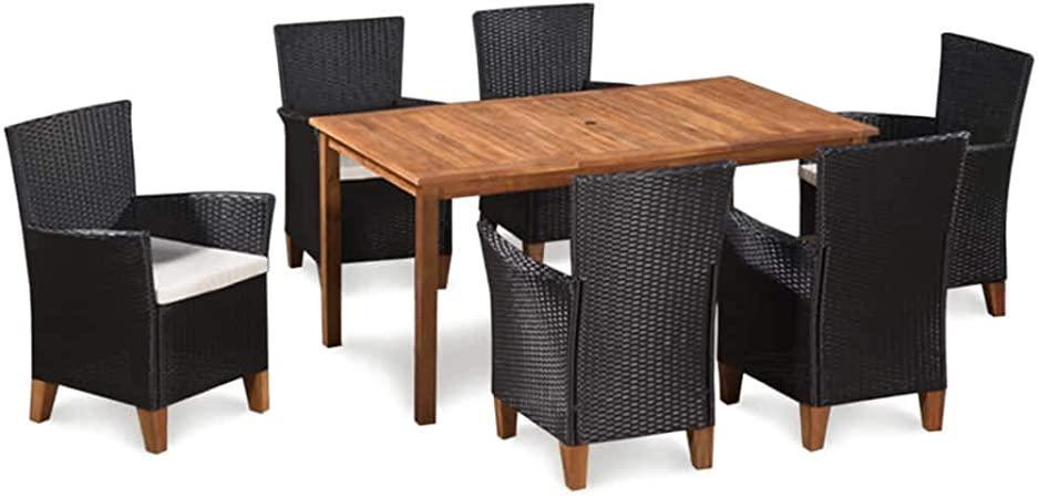 Gartenstühle Rattan Holz