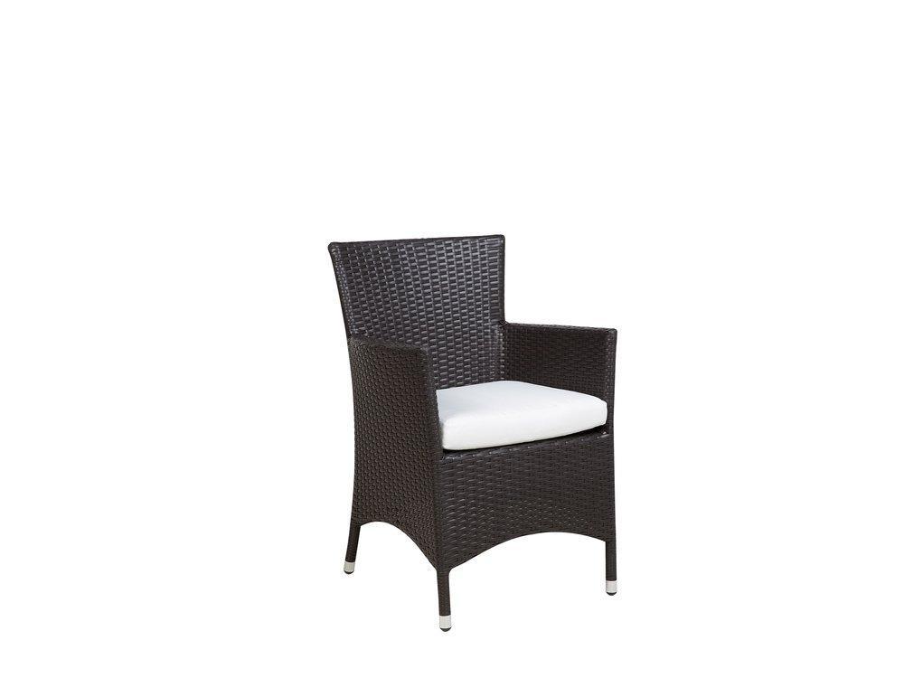 Gartenstühle Rattan Weiß