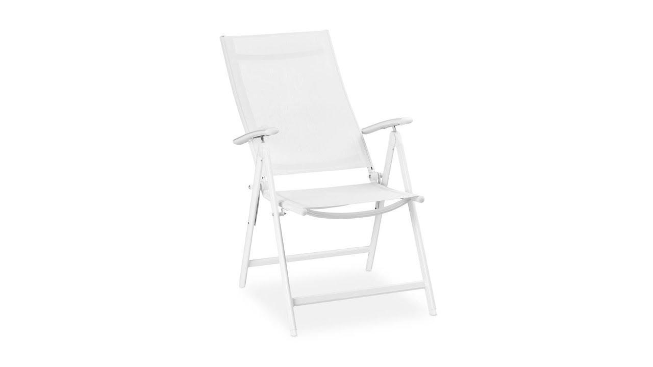 Gartenstühle Weiß Klappbar