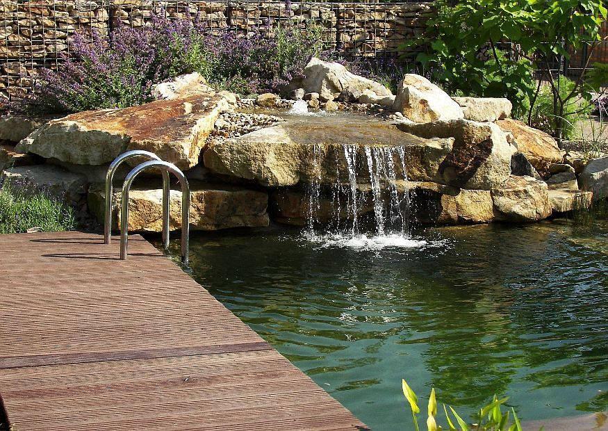 Gartenteich Anlegen Mit Wasserfall