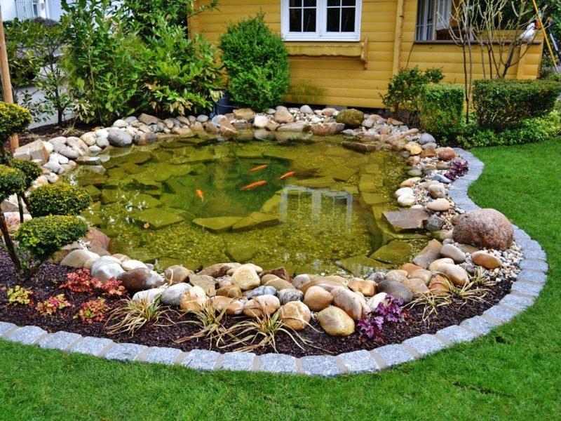 Gartenteich Klein Ideen
