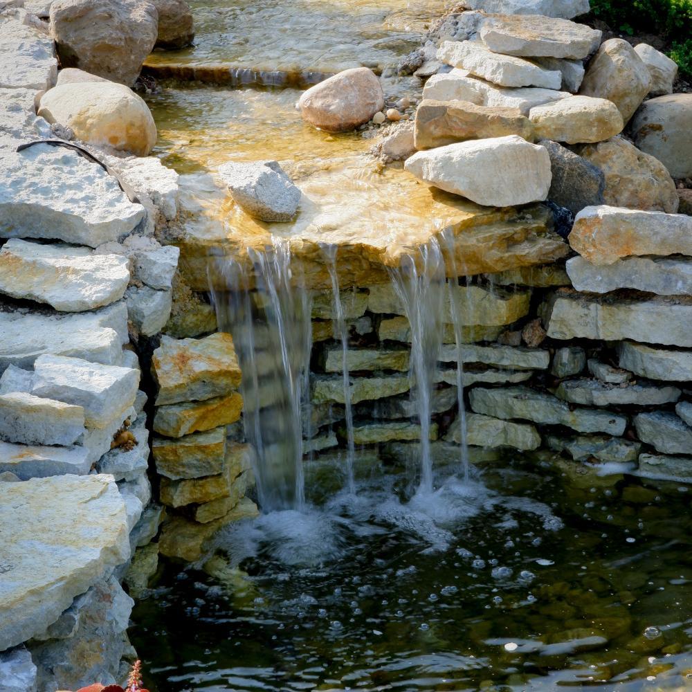 Gartenteich Wasserfall Selber Bauen