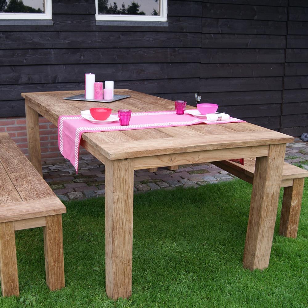 Gartentisch 200×100 Holz