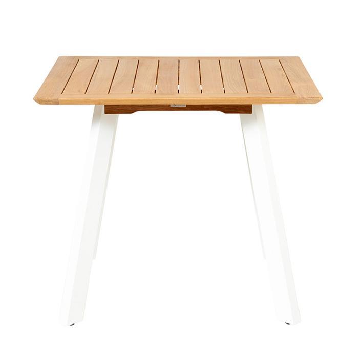 Gartentisch Alu Holz