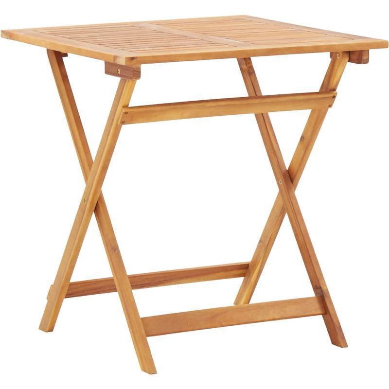 Gartentisch Holz Klappbar 70×70