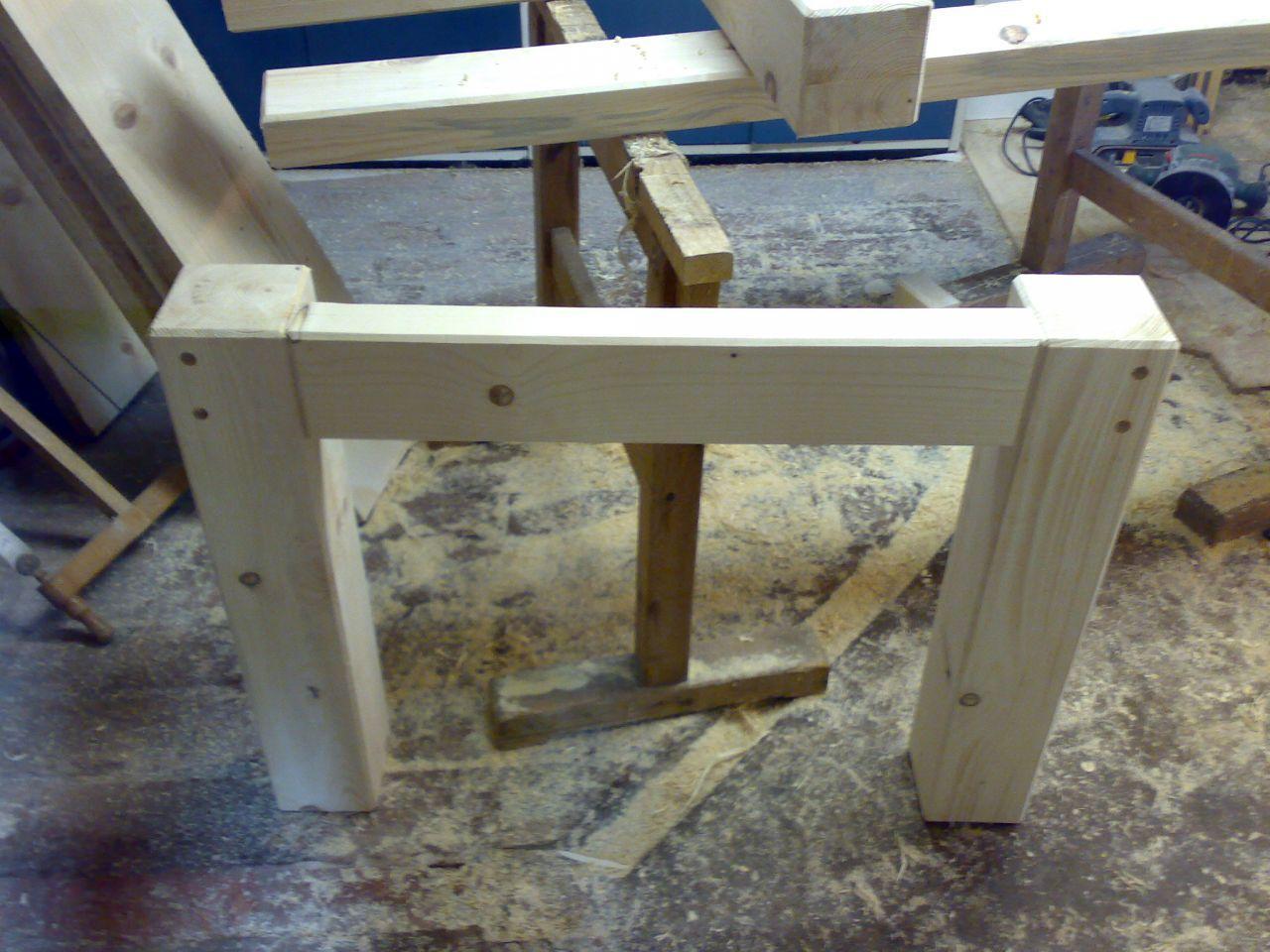 Gartentisch Holz Massiv Selber Bauen