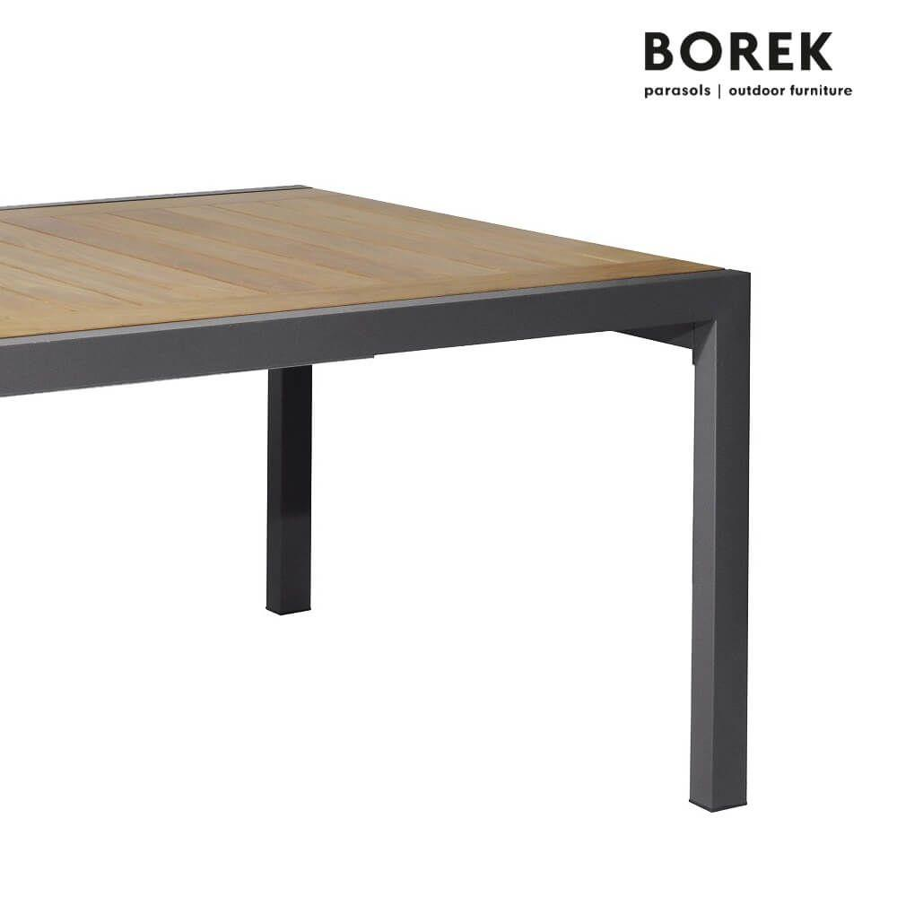 Gartentisch Holz Metall Ausziehbar