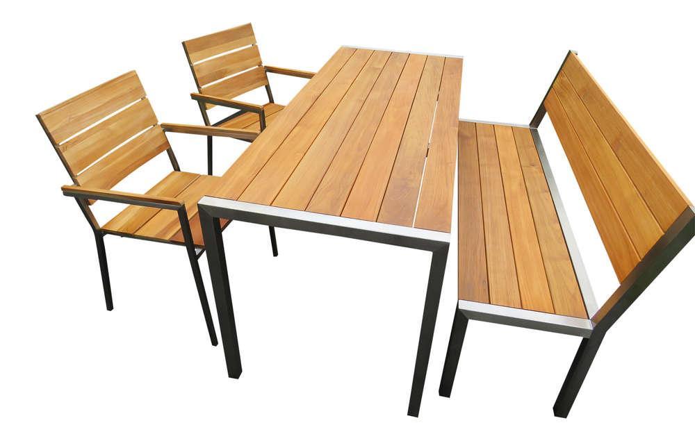 Gartentisch Mit Bank Und Stühlen