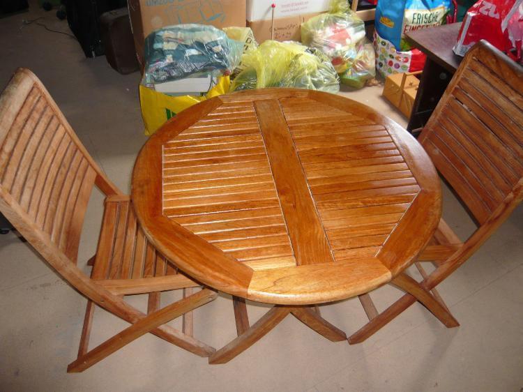 Gartentisch Mit Stühlen Holz