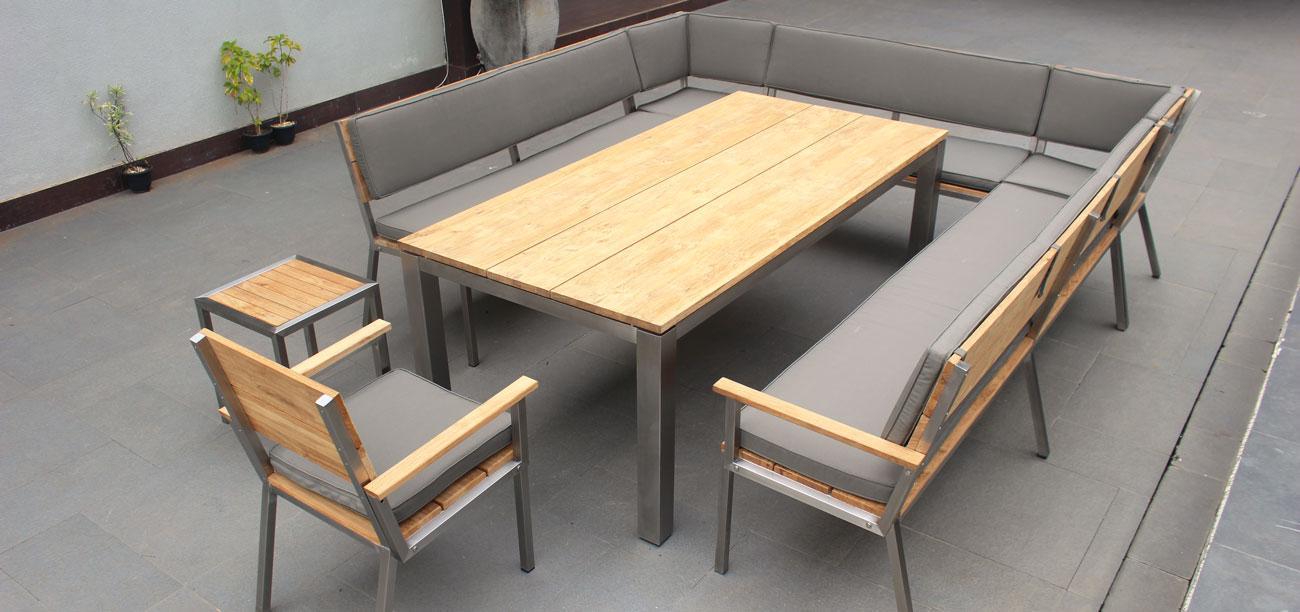Gartentisch Mit Stühlen Modern