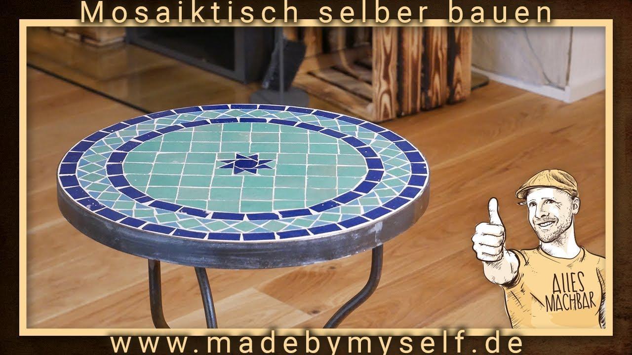 Gartentisch Rund Mosaik 120 Cm