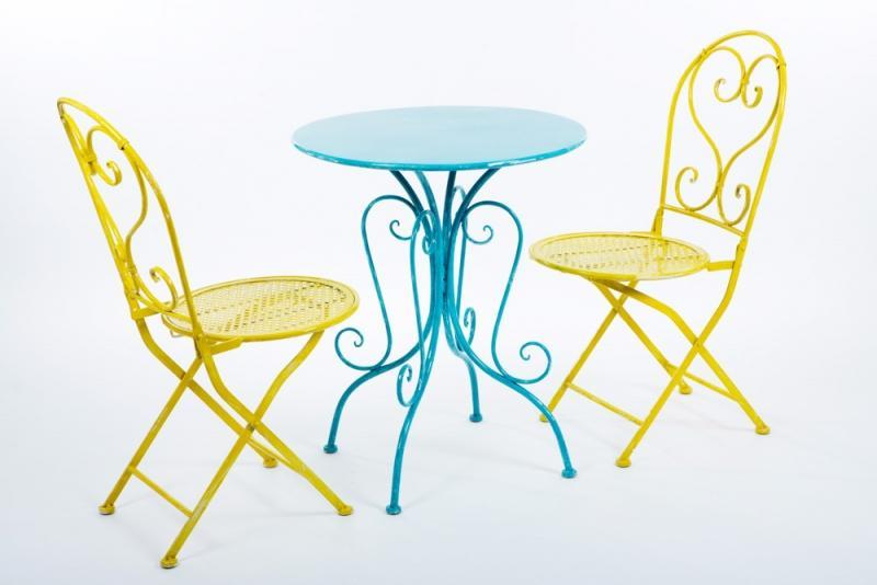 Gartentisch Und Stühle Metall