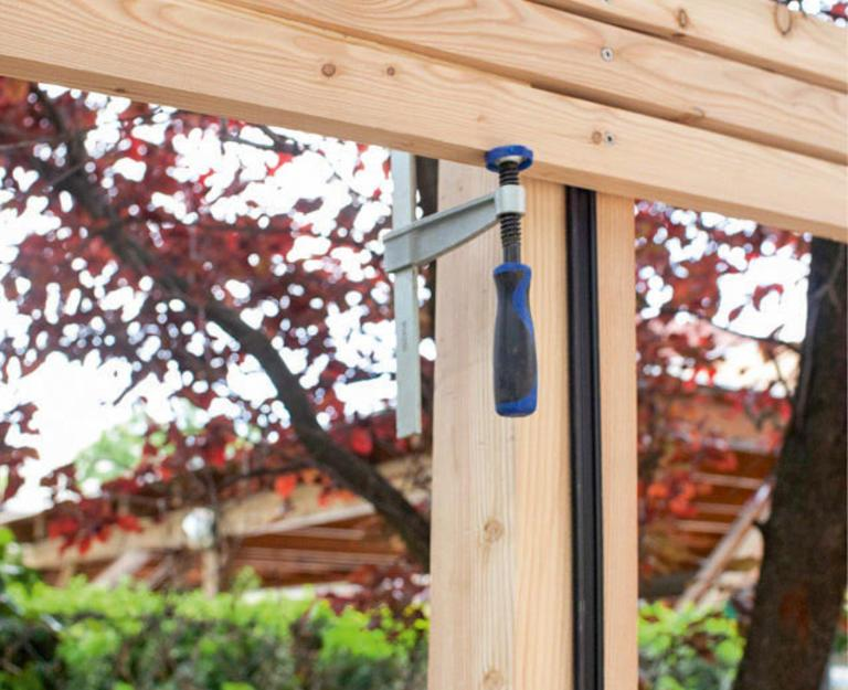 Gartenzaun Holz Sichtschutz Selber Bauen