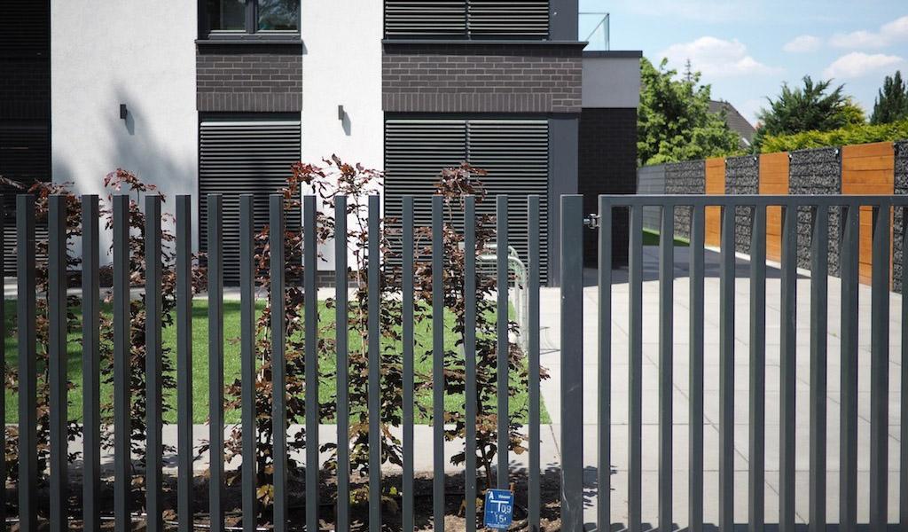 Gartenzaun Modern Holzzaun Modern