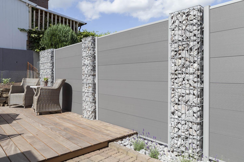 Gartenzaun Sichtschutz Metall