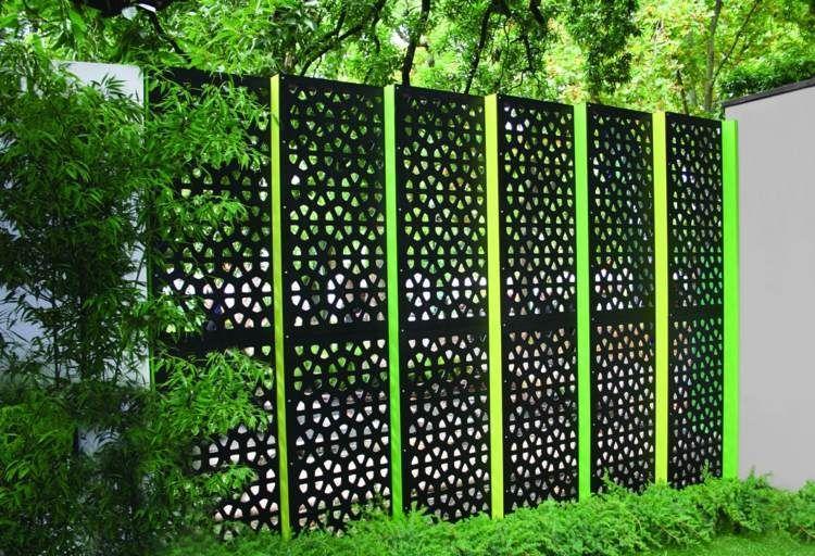 Gartenzaun Sichtschutz Selber Bauen