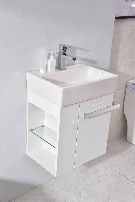 Gäste Wc Badmöbel Waschbecken Mit Unterschrank Und Ablagefächer