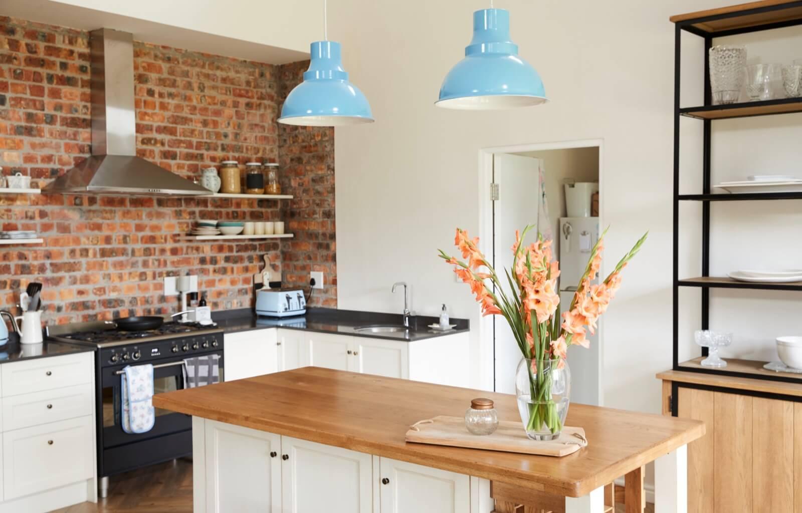Gemauerte Küchen Landhausstil Mediterran