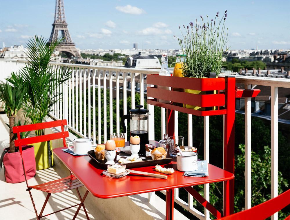 Gemütliche Balkonmöbel Für Kleinen Balkon