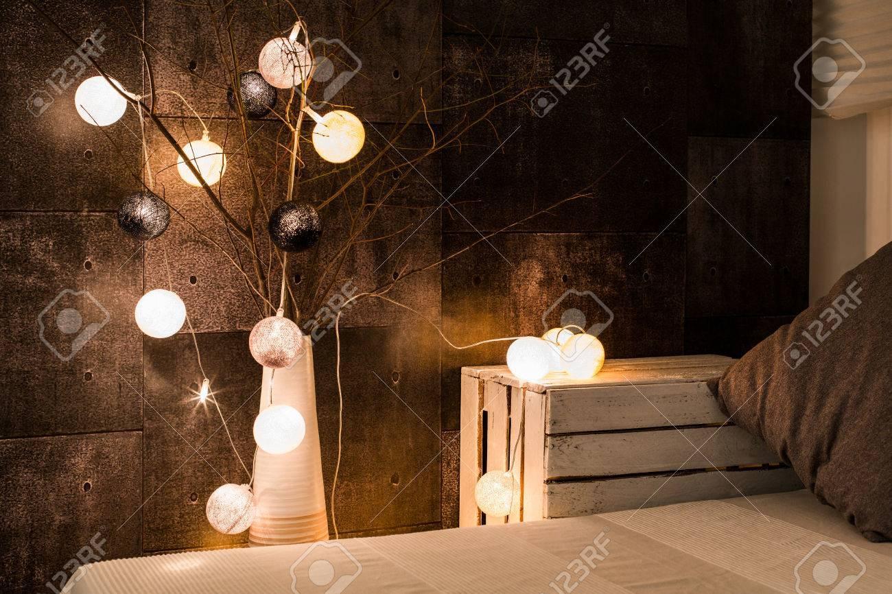 Gemütliche Schlafzimmer Lampe