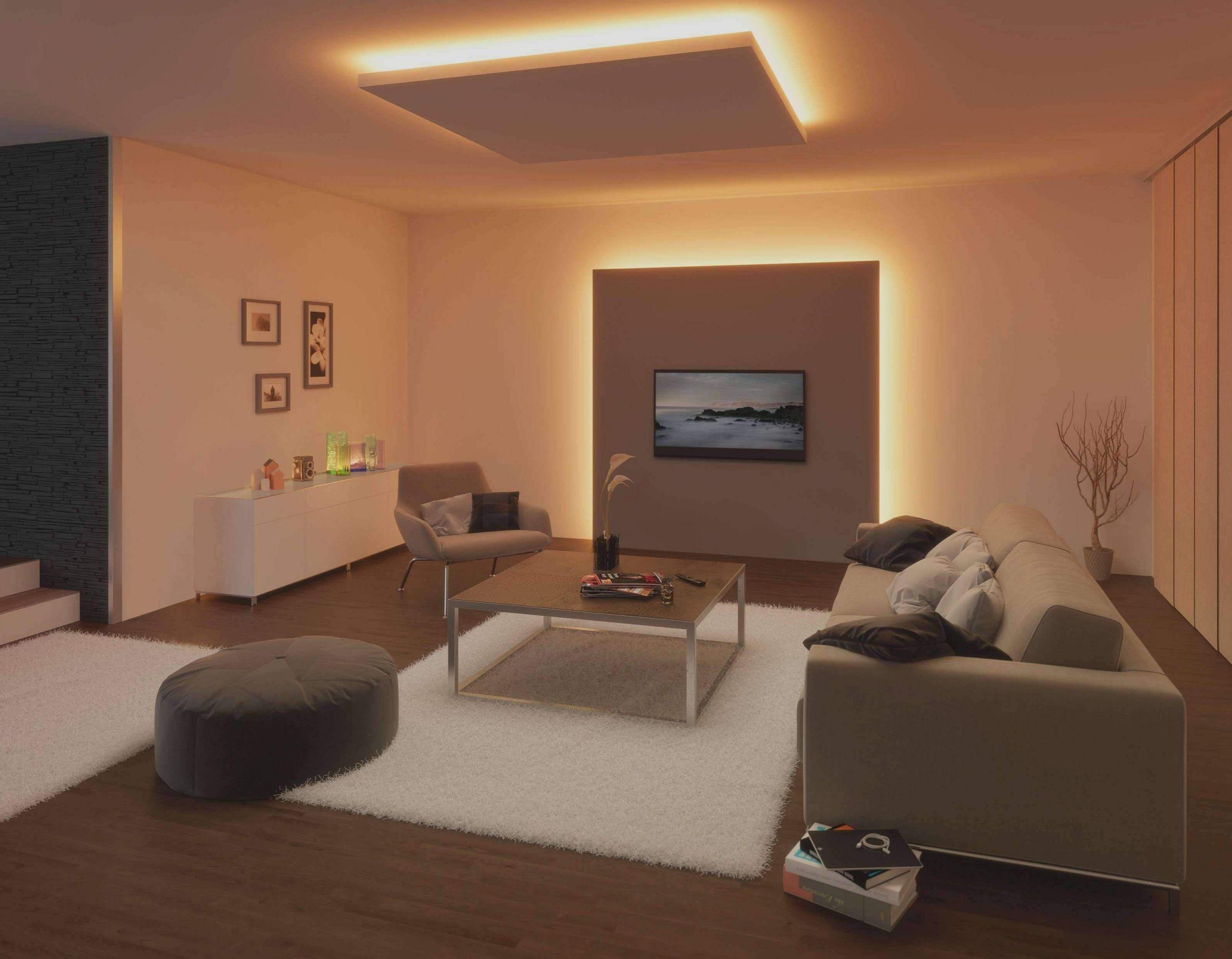 Gemütliche Wohnzimmer Beleuchtung