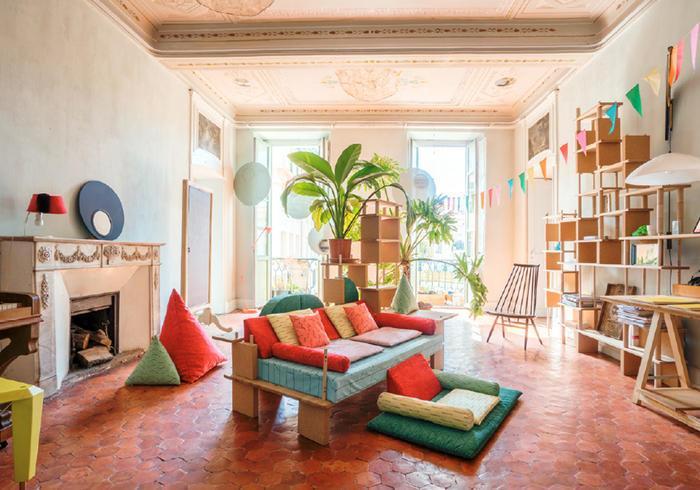 Gemütliche Wohnzimmer Ideen