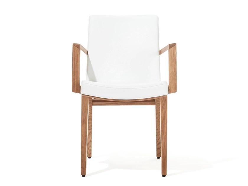 Gepolsterter Stuhl Mit Armlehne