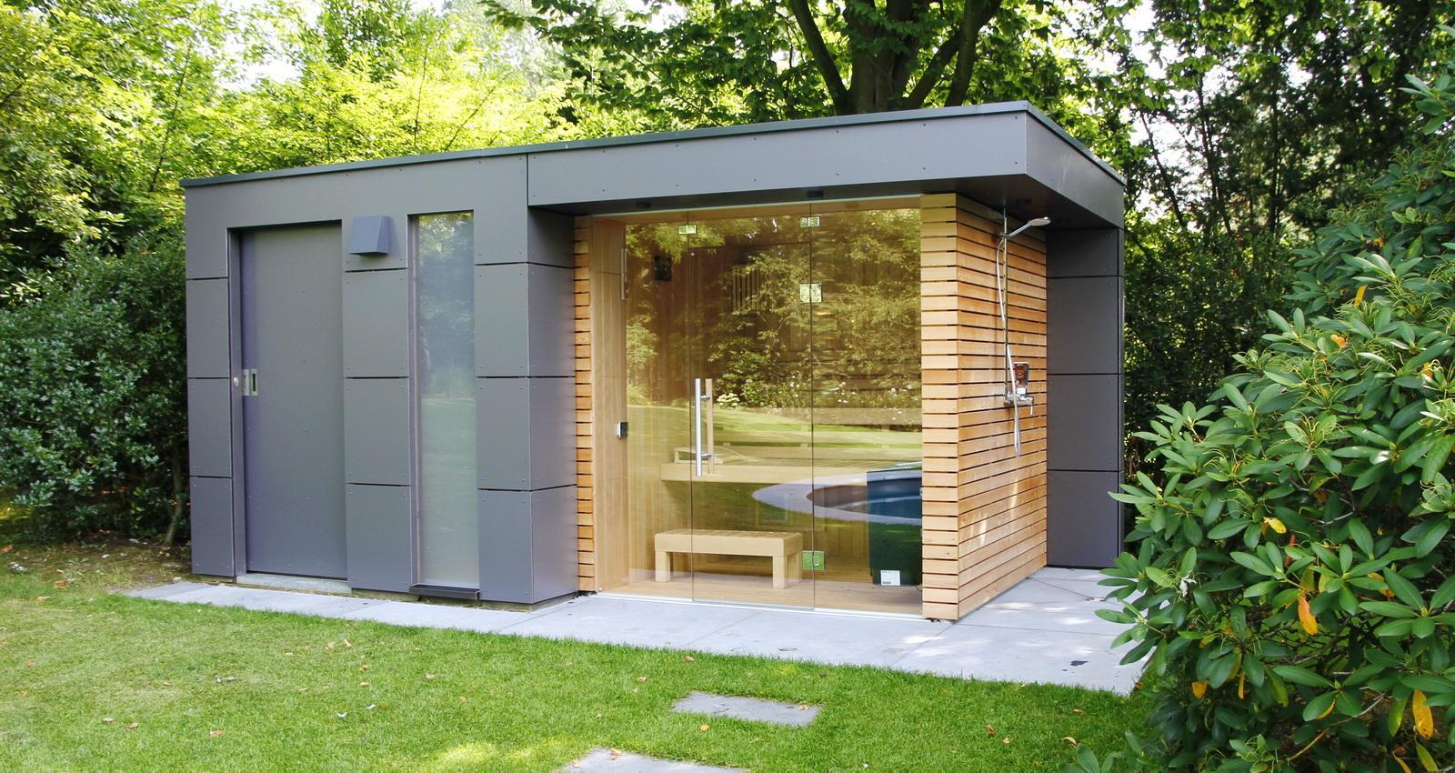 Gerätehaus Garten Modern
