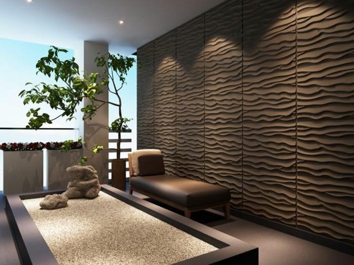Gestaltung Wohnzimmer Wände