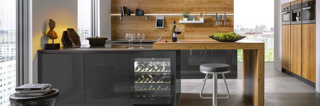 Glasrückwand Küche Matt