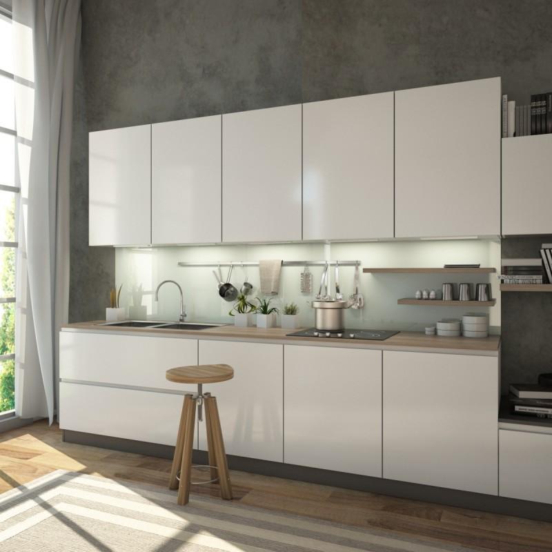 Glaswand Küche Bilder