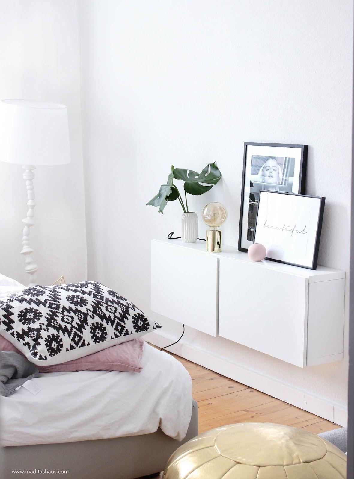 Goldene Lampe Schlafzimmer