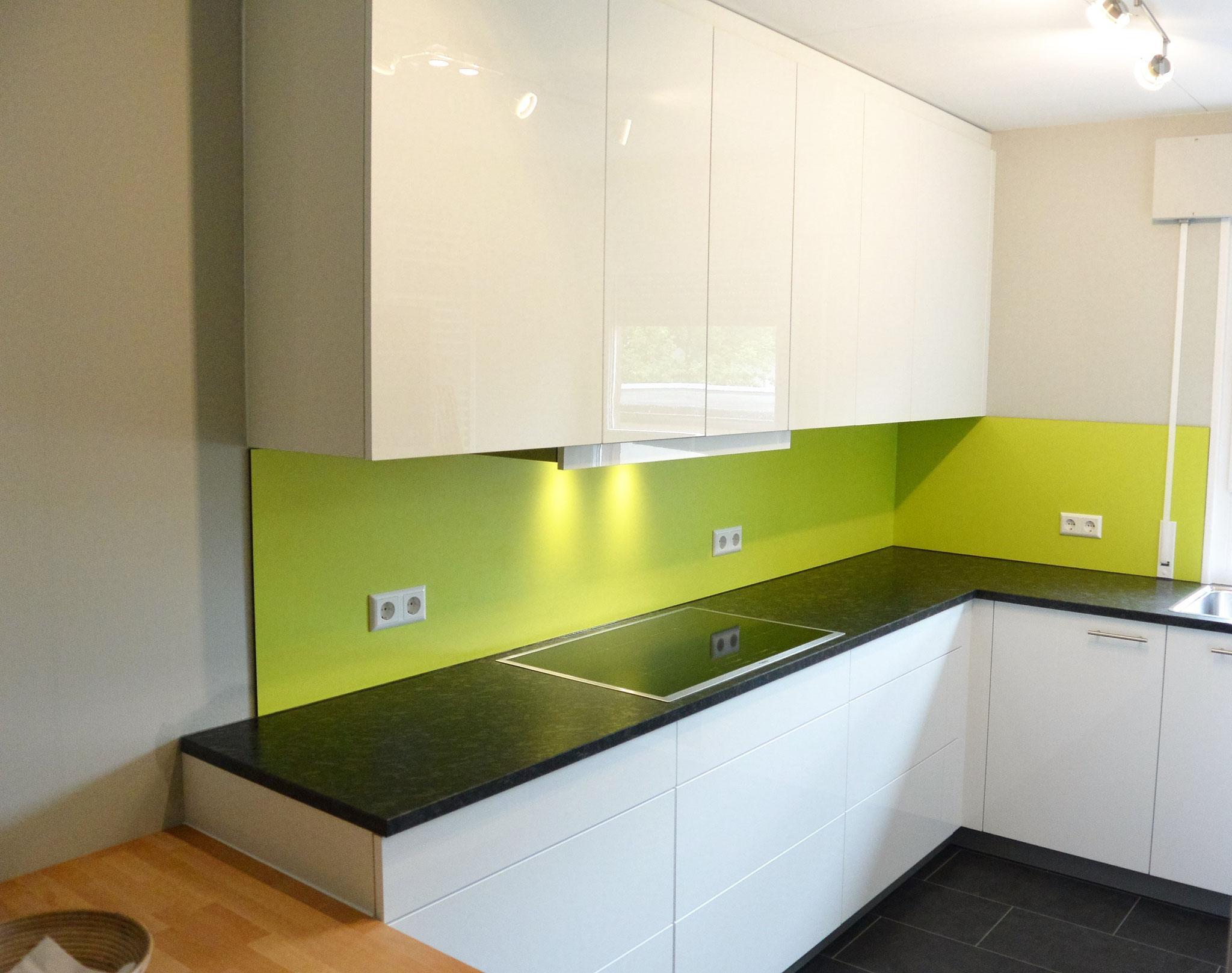 Granit Arbeitsplatte Küche Weiß
