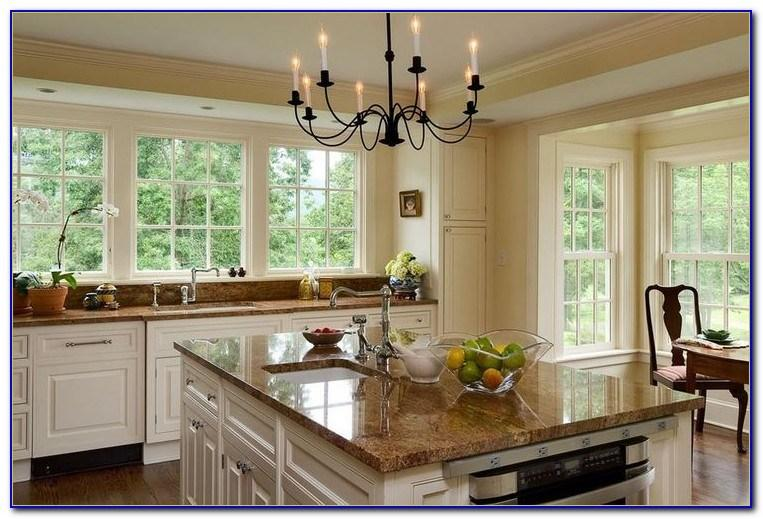 Granit Arbeitsplatte Weiße Küche