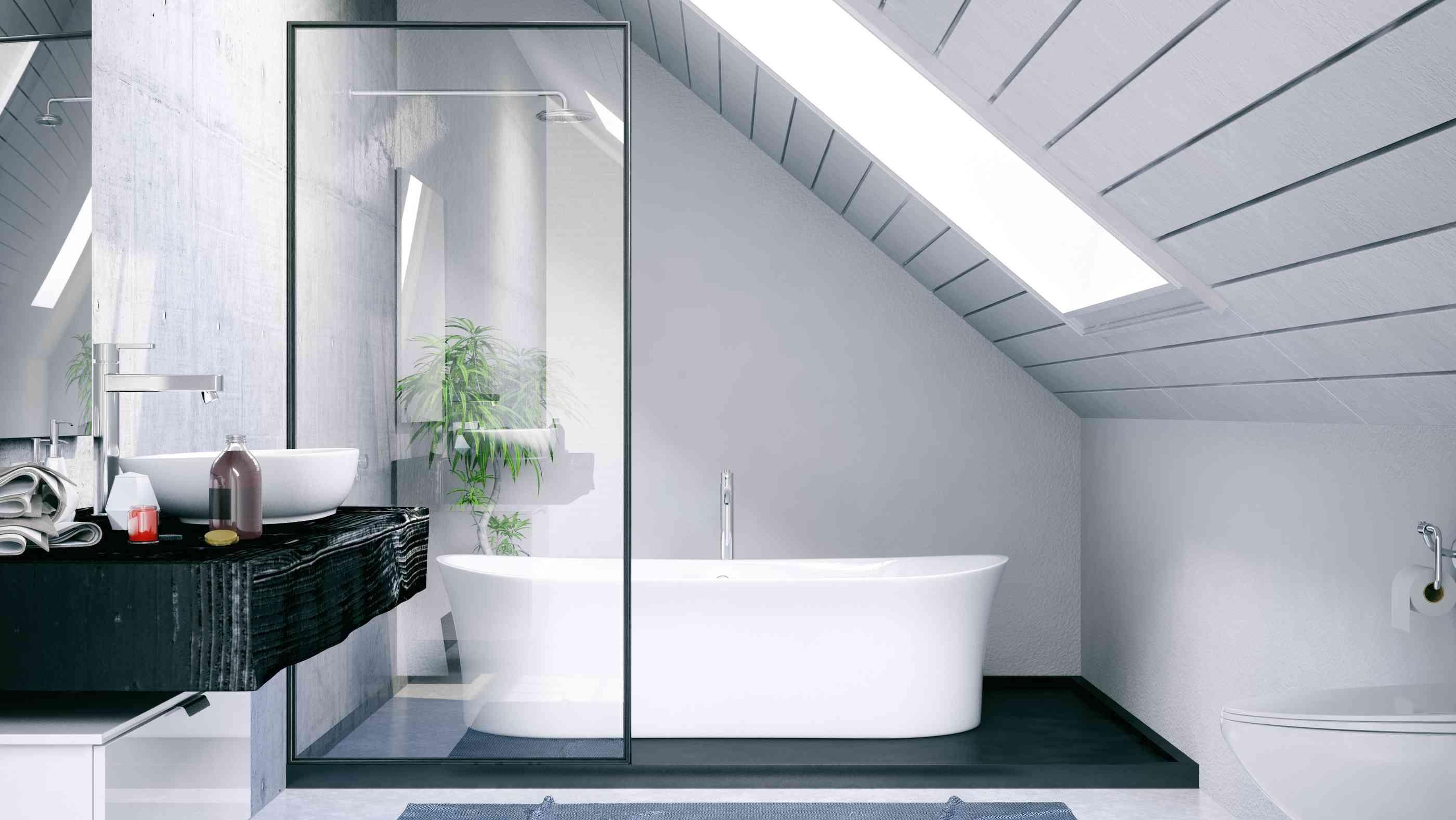 Granit Badezimmer Schwarz