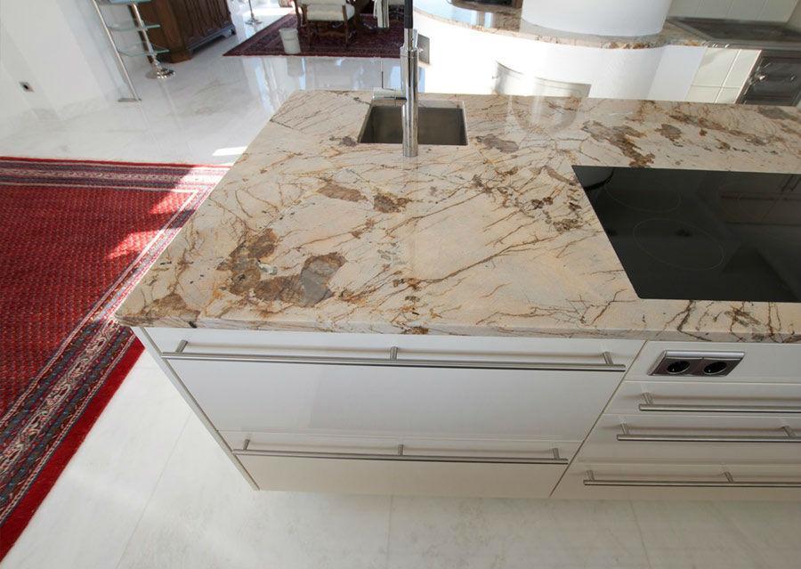 Granitplatten Küche Farben