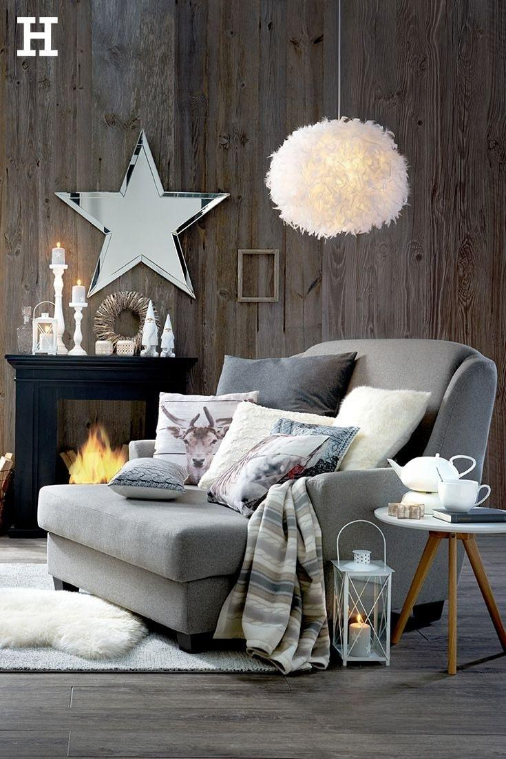 Graue Couch Mit Kissen Dekorieren